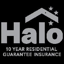 Halo 10 year residential guarantee insurance
