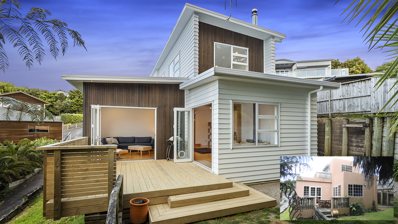 We can take care of recladding your home, completely transforming it.